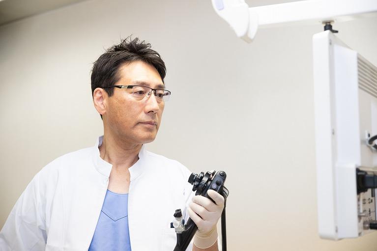 内視鏡専門医による苦痛の少ない内視鏡検査