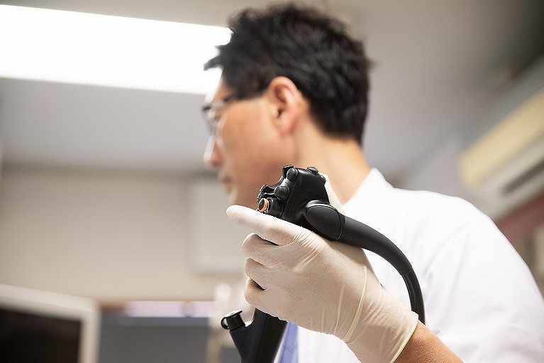 苦しくない胃内視鏡検査(胃カメラ)について