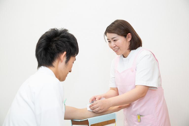 予防接種ついて